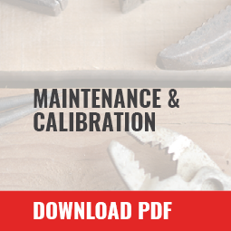 maintenance-calibration