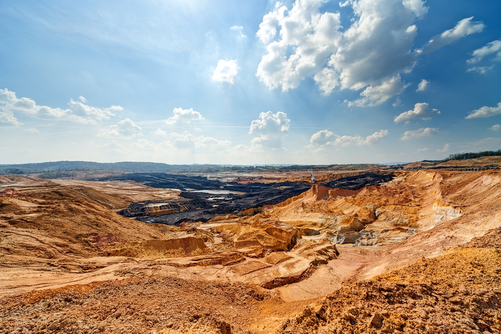 A backfill strategy can mitigate the potential environmental of open pit mines.