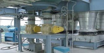 Impact weighers are designed to measure free-flowing dry materials like various powders.