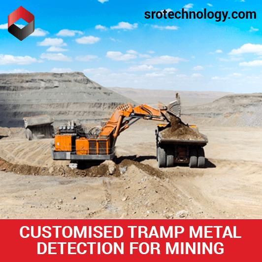 We provide customised tramp metal detectors for mining