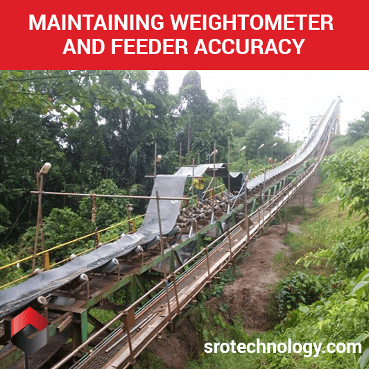 Maintaining weightometer and feeder accuracy